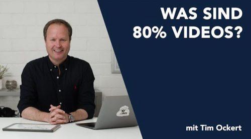Was sind 80%-Videos?