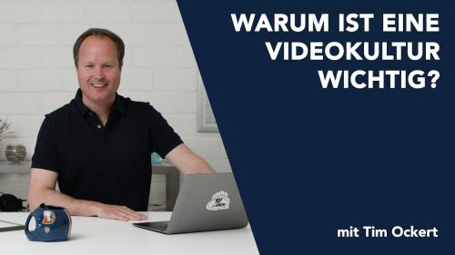 Warum ist eine Videokultur wichtig?